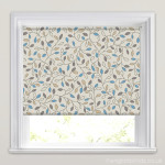 pretty-beige-blue-grey-leaf-patterned-roller-blinds-wide